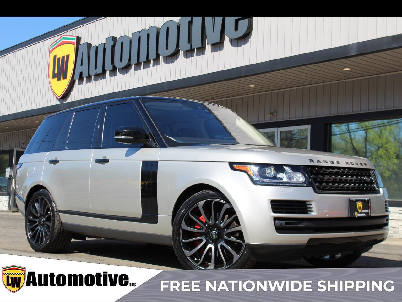 2017 Land Rover Range Rover V6 Supercharged HSE SWB
