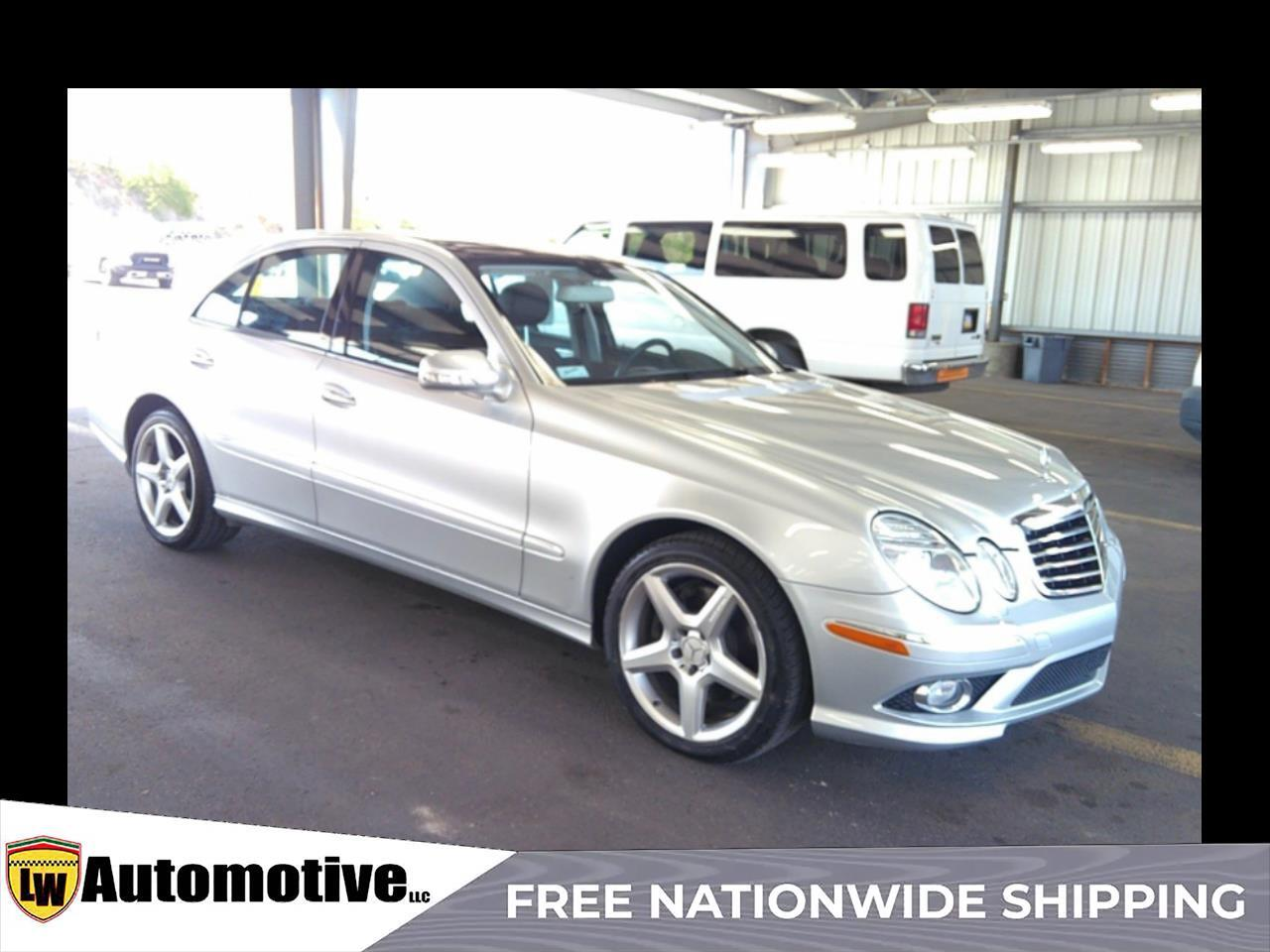 2009 Mercedes-Benz E-Class 4dr Sdn Luxury 3.5L 4MATIC