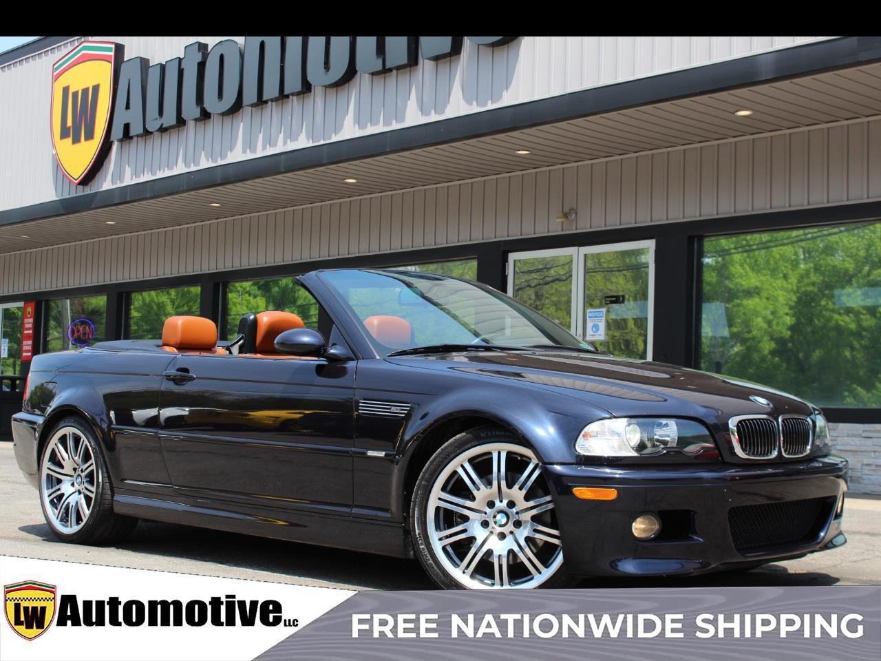 2005 BMW M3 2D Convertible