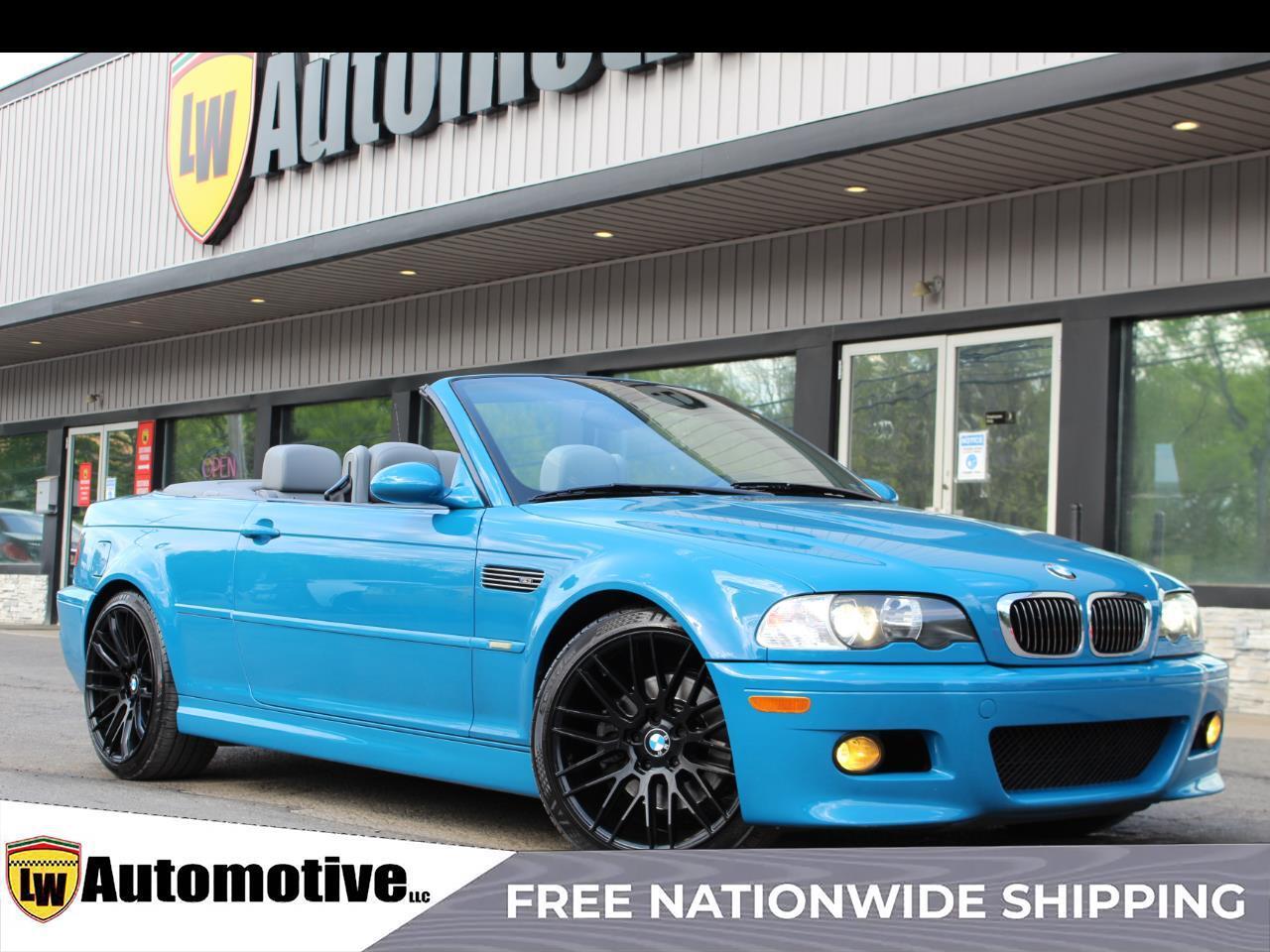 2003 BMW M3 2D Convertible
