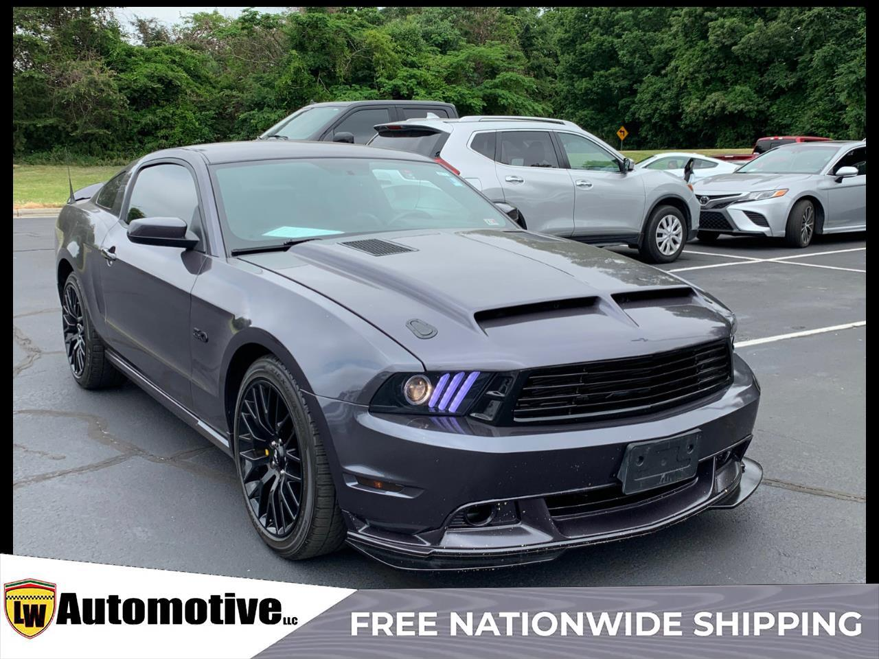 2012 Ford Mustang 2dr Cpe GT
