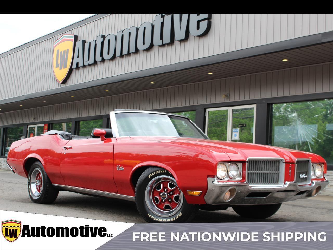 1971 Oldsmobile Cutlass Supreme 2dr Convertible
