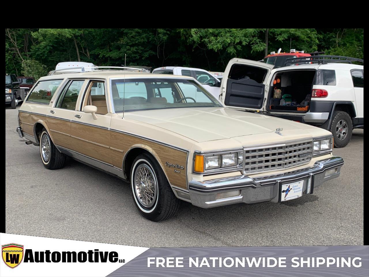 1985 Chevrolet Caprice Classic 4dr Wagon