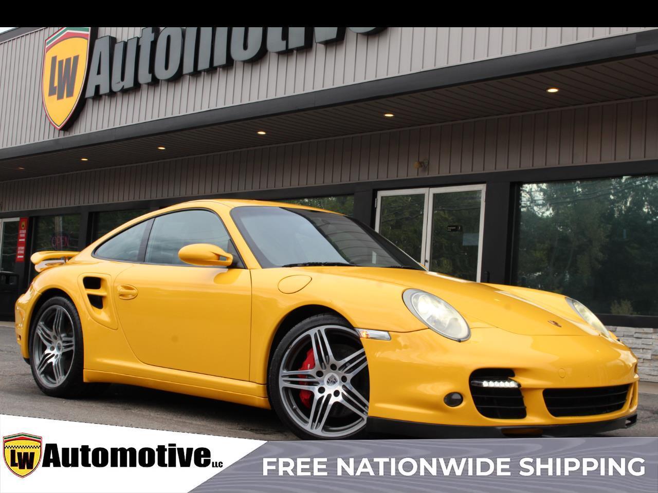 2007 Porsche 911 2dr Cpe Turbo