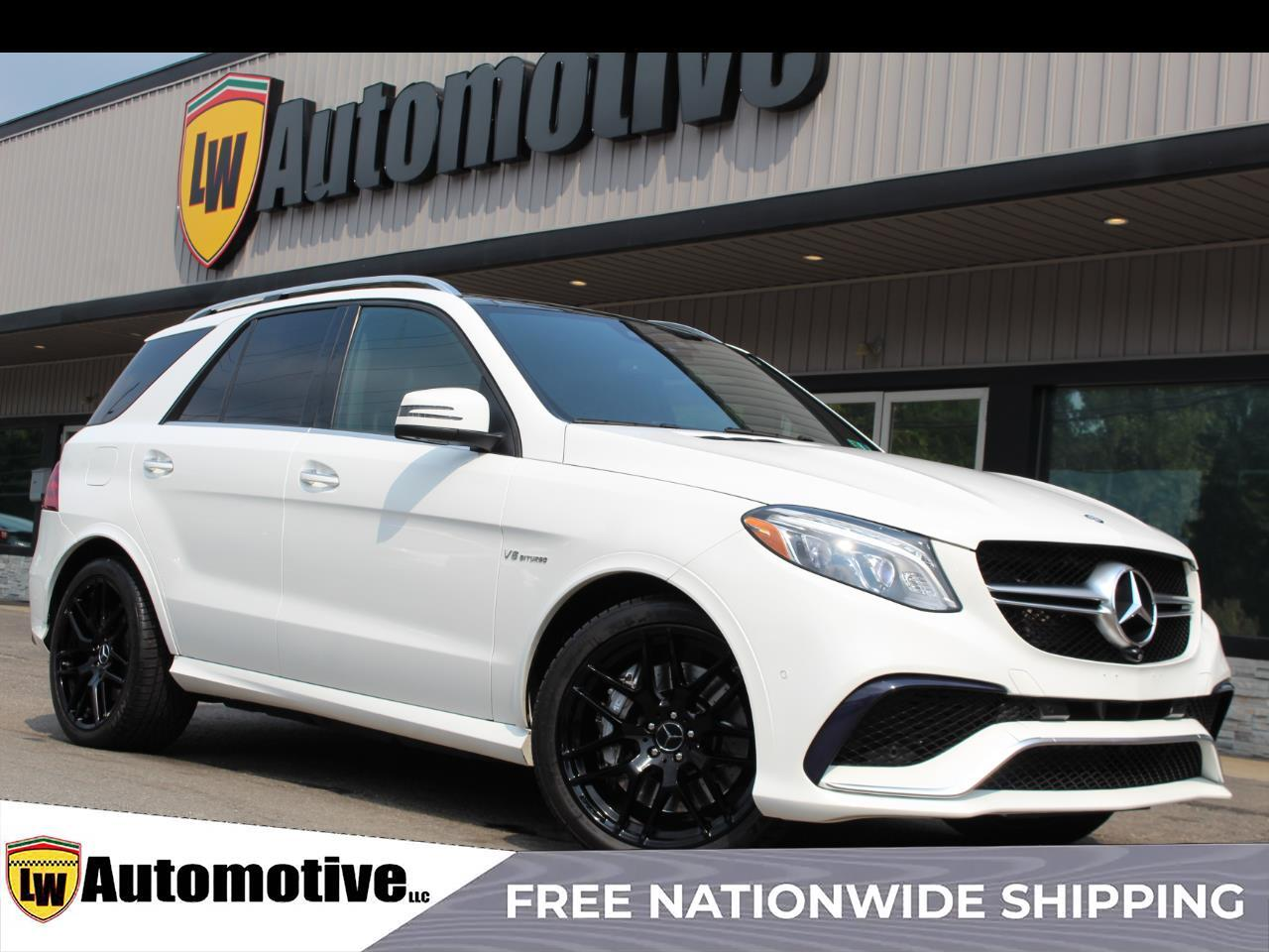 2016 Mercedes-Benz GLE 4MATIC 4dr AMG GLE 63