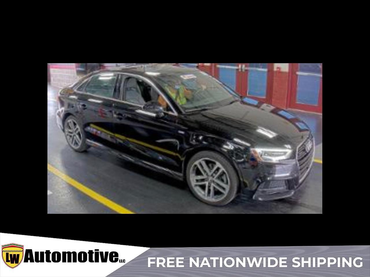 2018 Audi A3 Sedan 2.0 TFSI Tech Premium Plus quattro AWD
