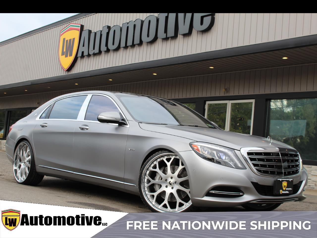 2016 Mercedes-Benz S-Class 4dr Sdn Maybach S 600 RWD