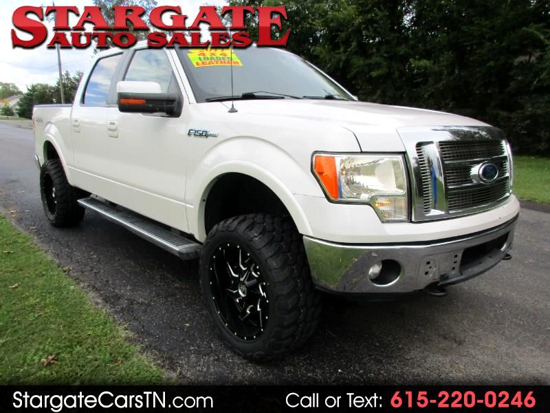 "2011 Ford F-150 2WD Supercab 133"" Lariat"