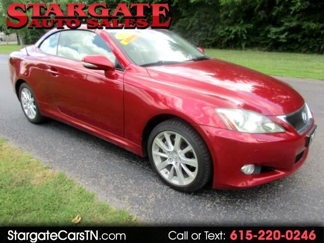 2010 Lexus IS C IS 250C