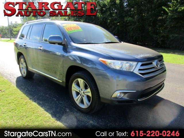 2013 Toyota Highlander FWD 4dr V6  Limited (Natl)