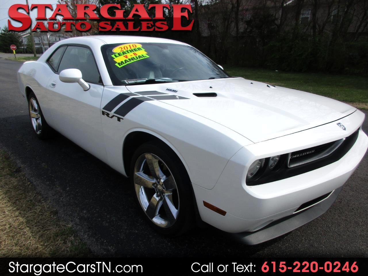 2010 Dodge Challenger 2dr Cpe R/T