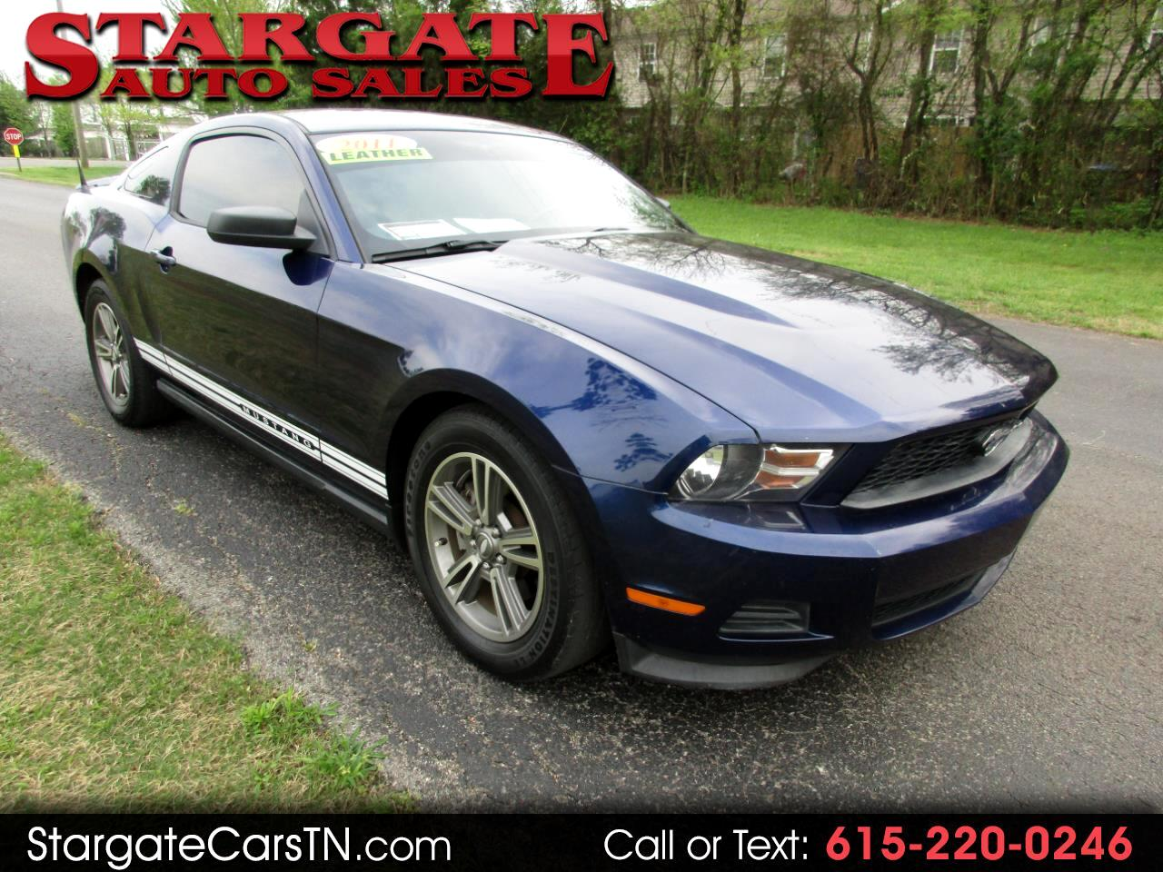 2011 Ford Mustang 2dr Cpe V6 Premium