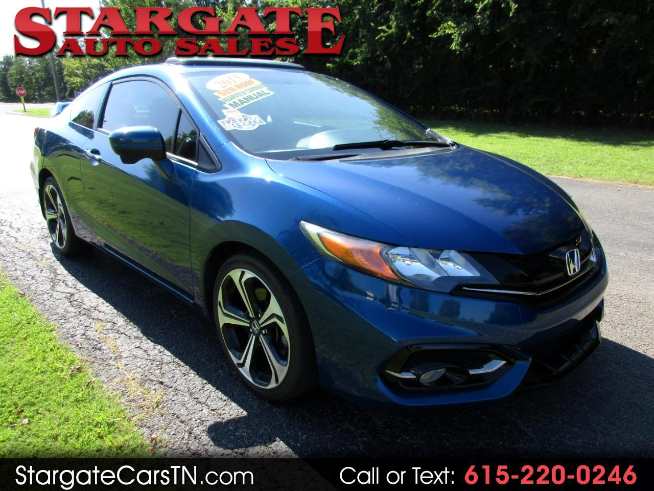 Honda Civic Coupe 2dr Man Si 2015
