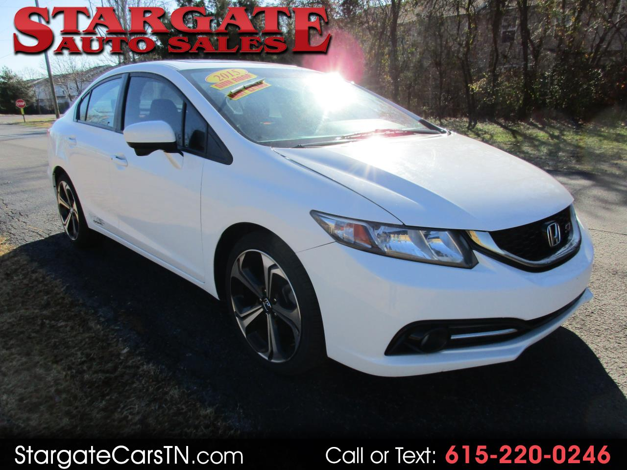 Honda Civic Sedan 4dr Man Si 2015