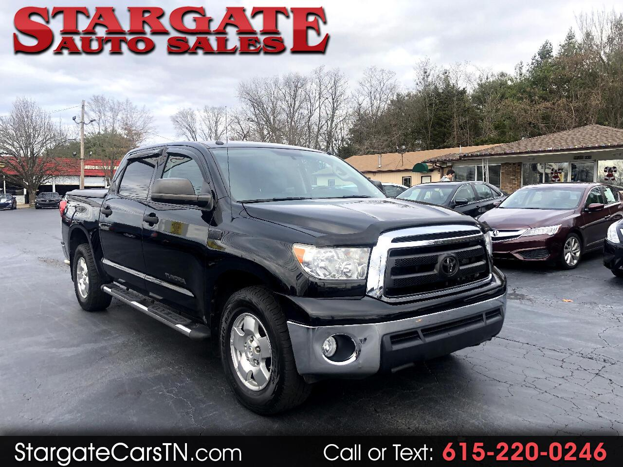 Toyota Tundra 2WD Truck CrewMax 5.7L V8 6-Spd AT  (Natl) 2012