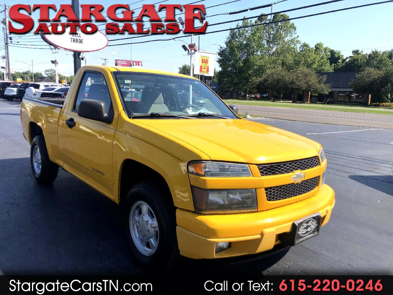"Chevrolet Colorado Reg Cab 111.2"" WB Z85 2005"