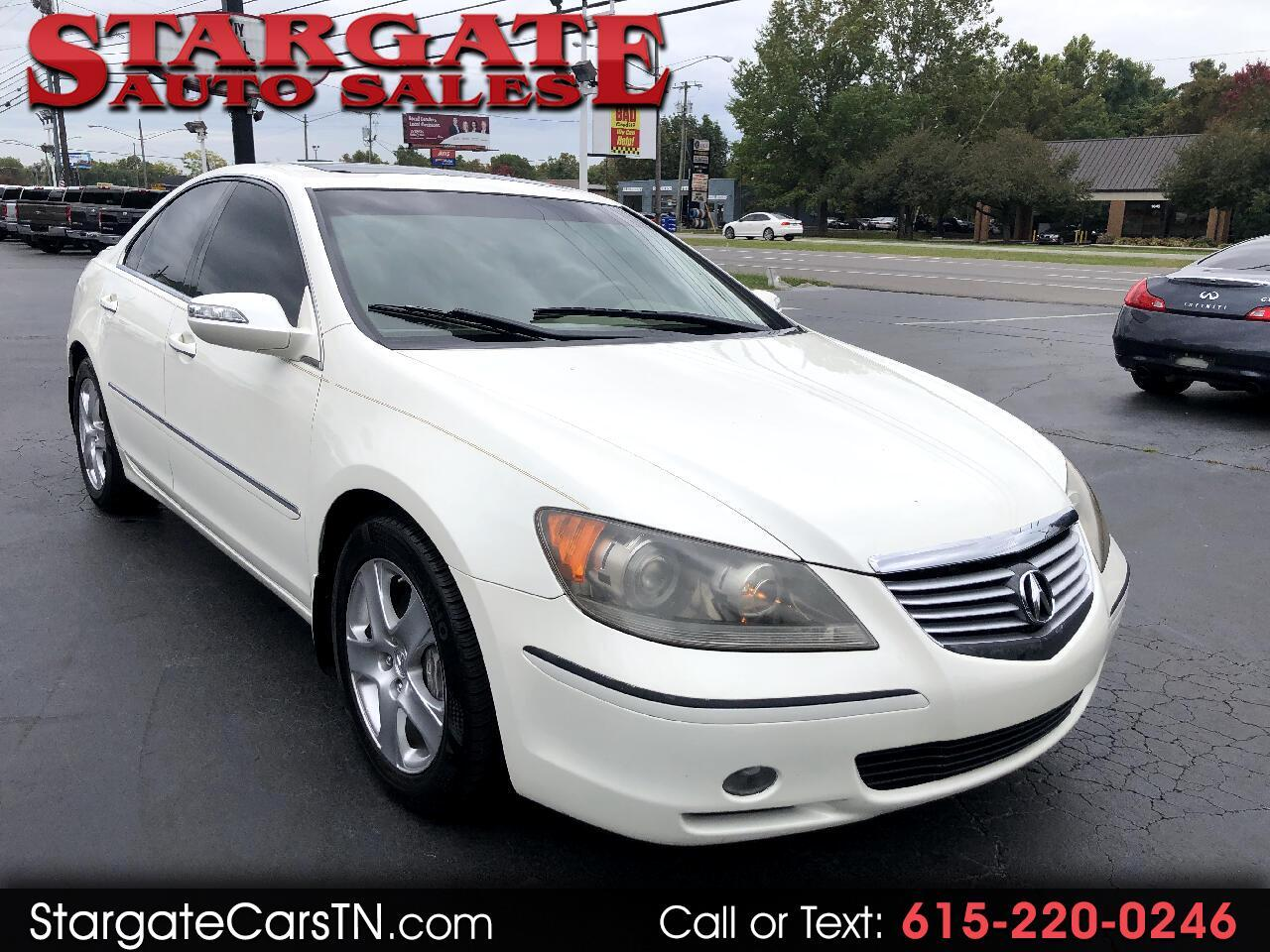 Acura RL 4dr Sdn AT Tech Pkg (Natl) 2007