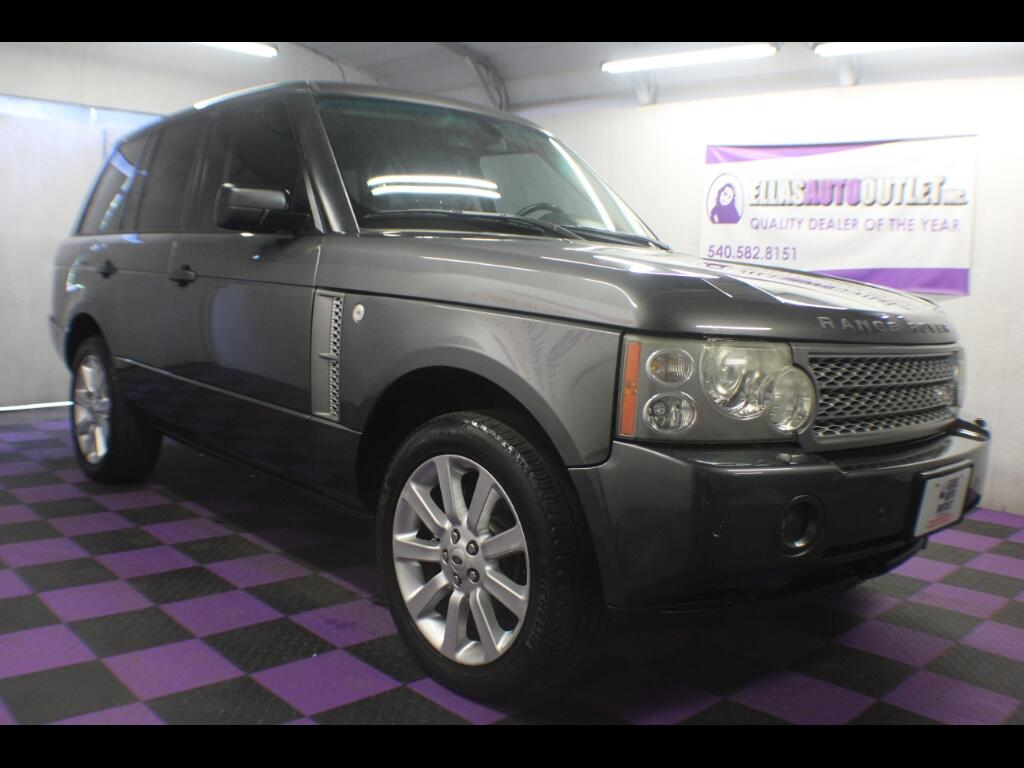 2006 Land Rover Range Rover SUPERCHARGE