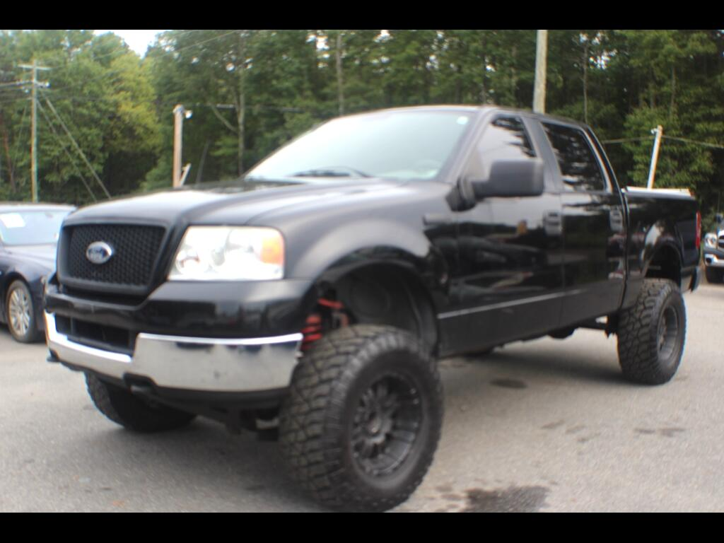 """2005 Ford F-150 SuperCrew 139"""" King Ranch 4WD"""