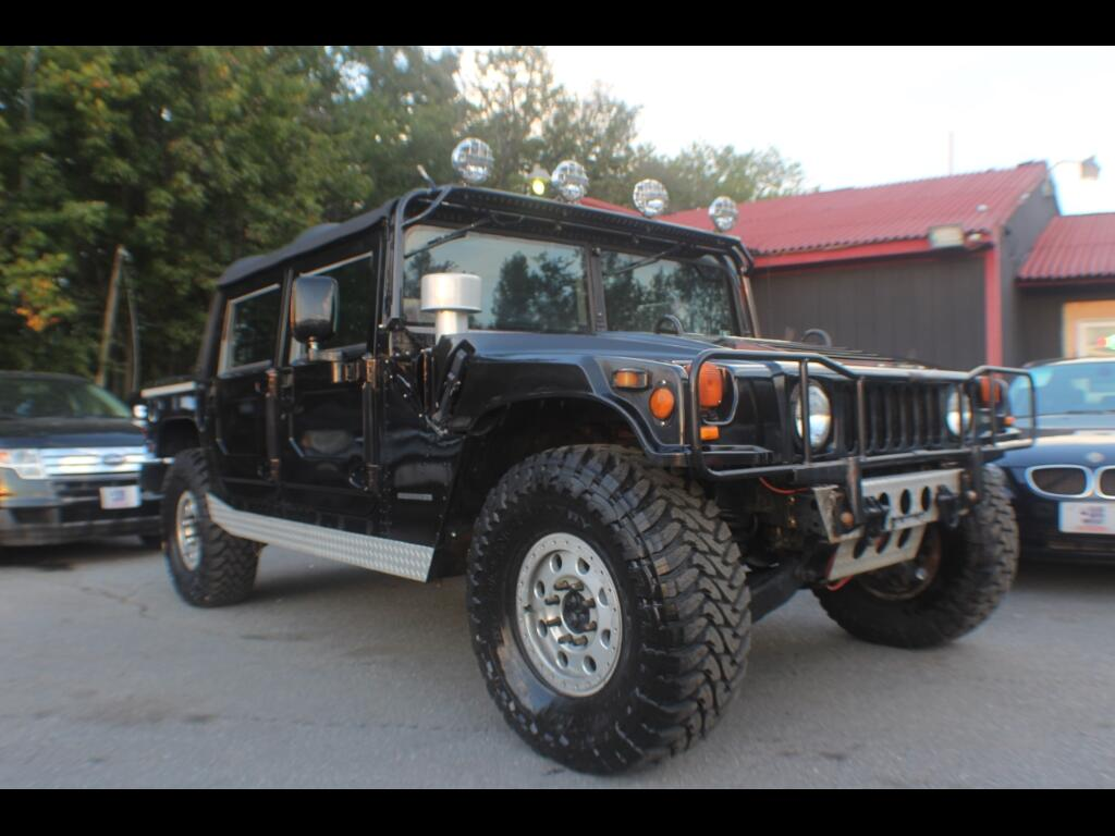 2000 AM General Hummer 4-Passenger Open Top Hard Doors