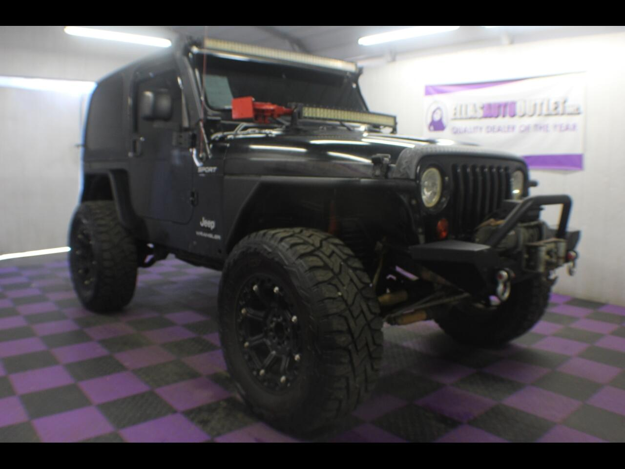 2003 Jeep Wrangler 2dr Sport