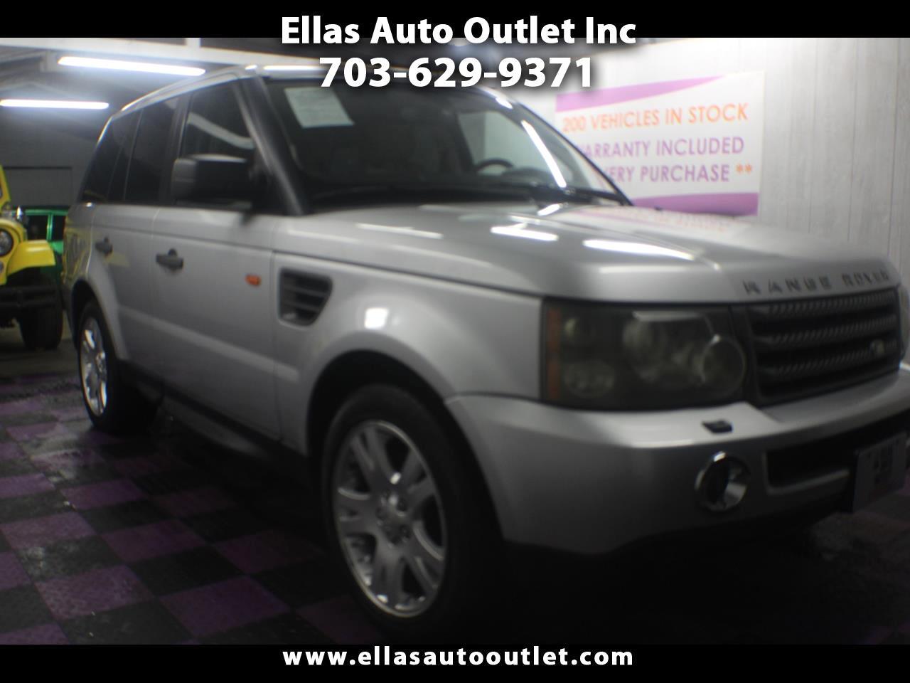 2006 Land Rover Range Rover Sport 4dr Wgn HSE