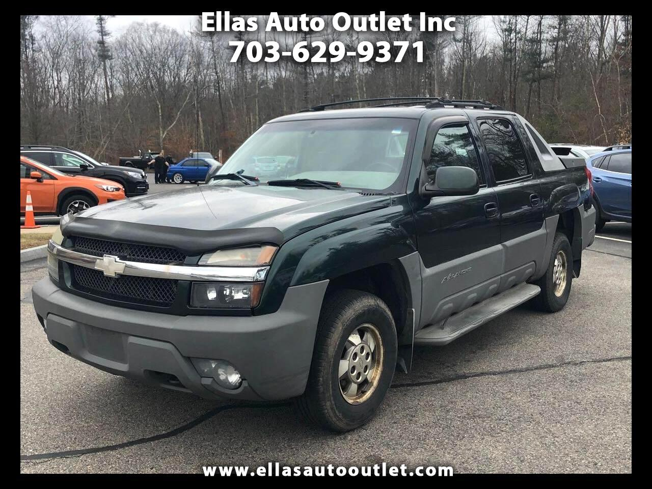"""2002 Chevrolet Avalanche 1500 5dr Crew Cab 130"""" WB 4WD"""