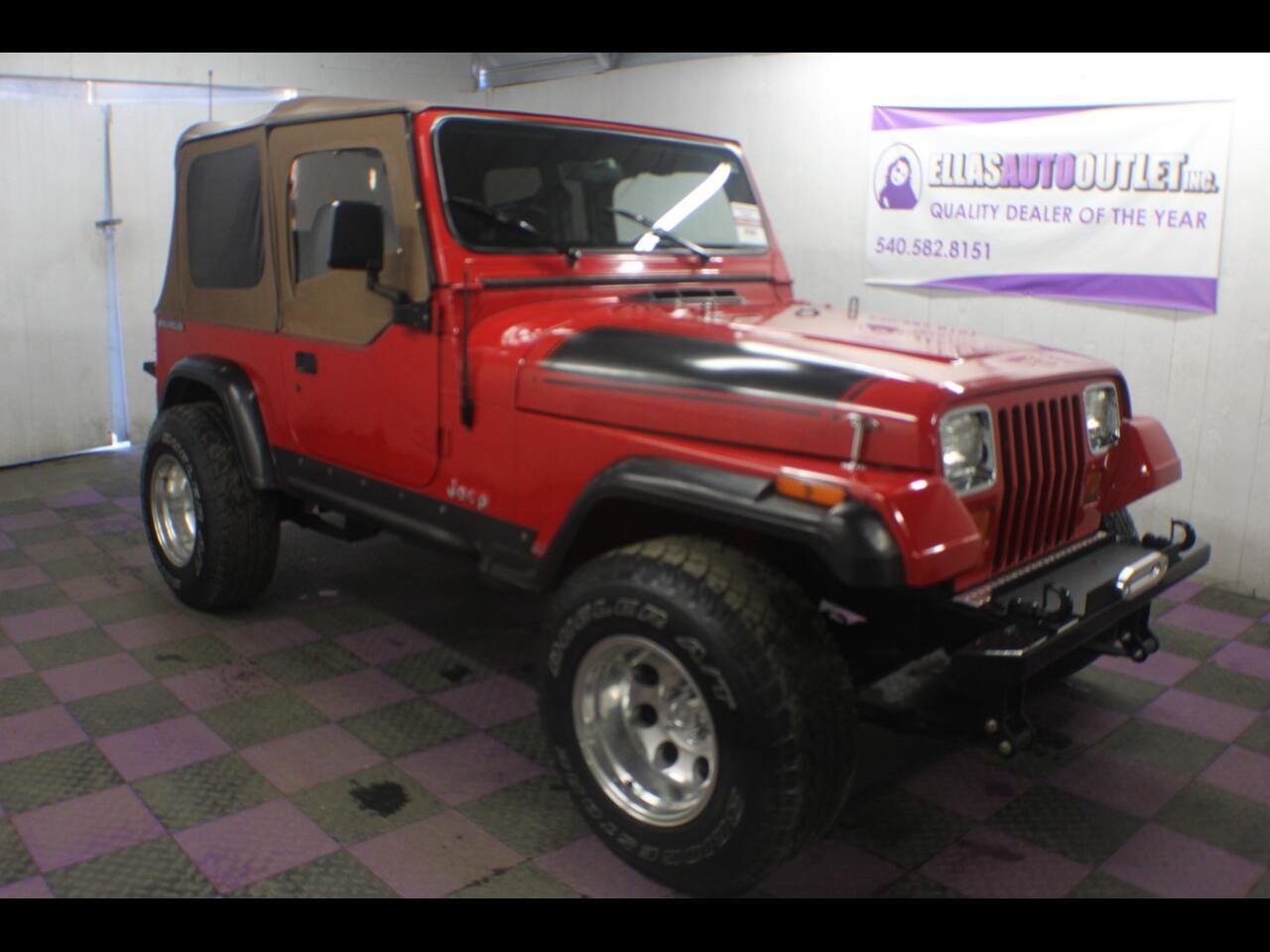 1991 Jeep Wrangler 2dr