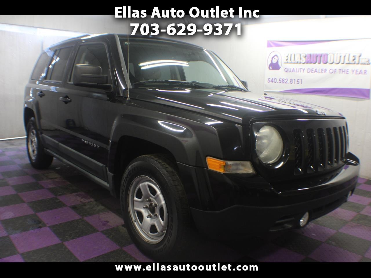 2011 Jeep Patriot FWD 4dr Sport