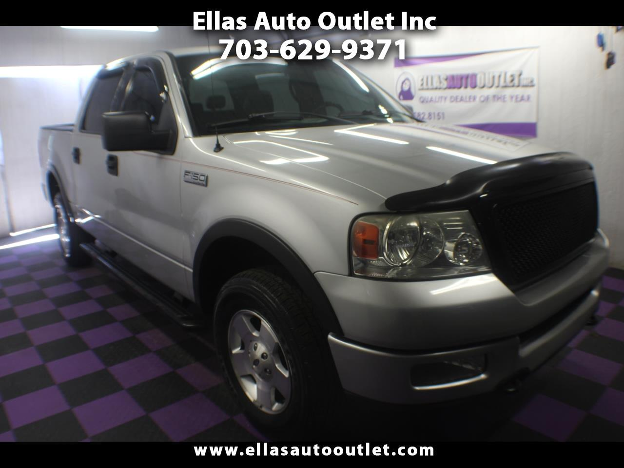 "2004 Ford F-150 SuperCrew 139"" Lariat 4WD"