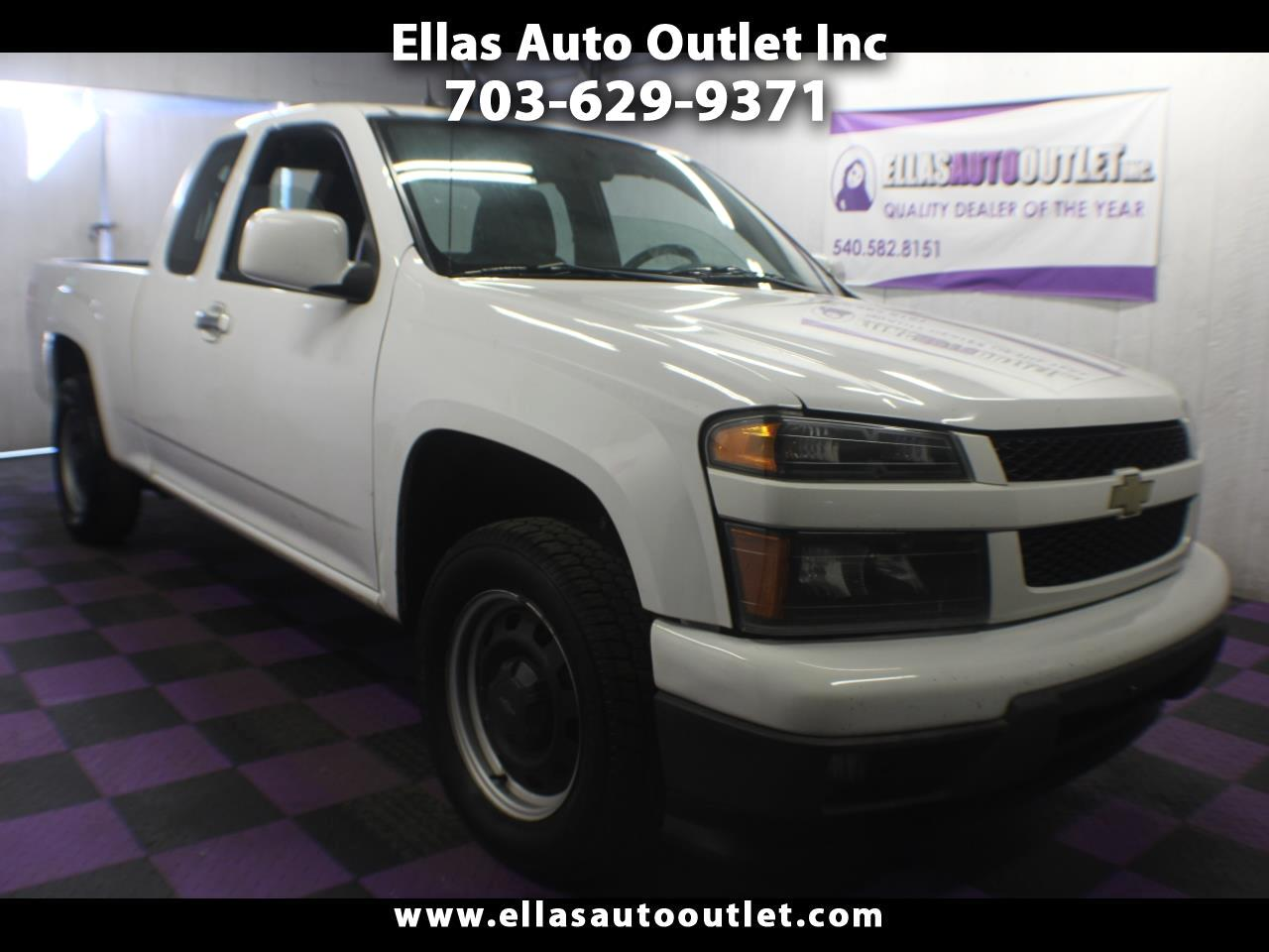 2012 Chevrolet Colorado 2WD EXT CAB