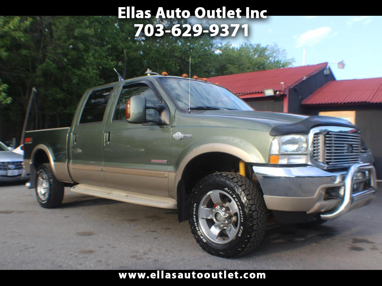 "2004 Ford Super Duty F-250 4WD Crew Cab 156"" King Ranch"