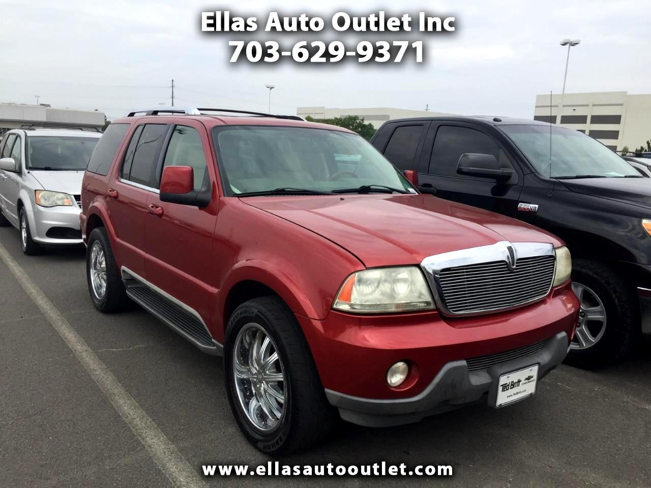 Lincoln Aviator 4dr AWD Ultimate 2004