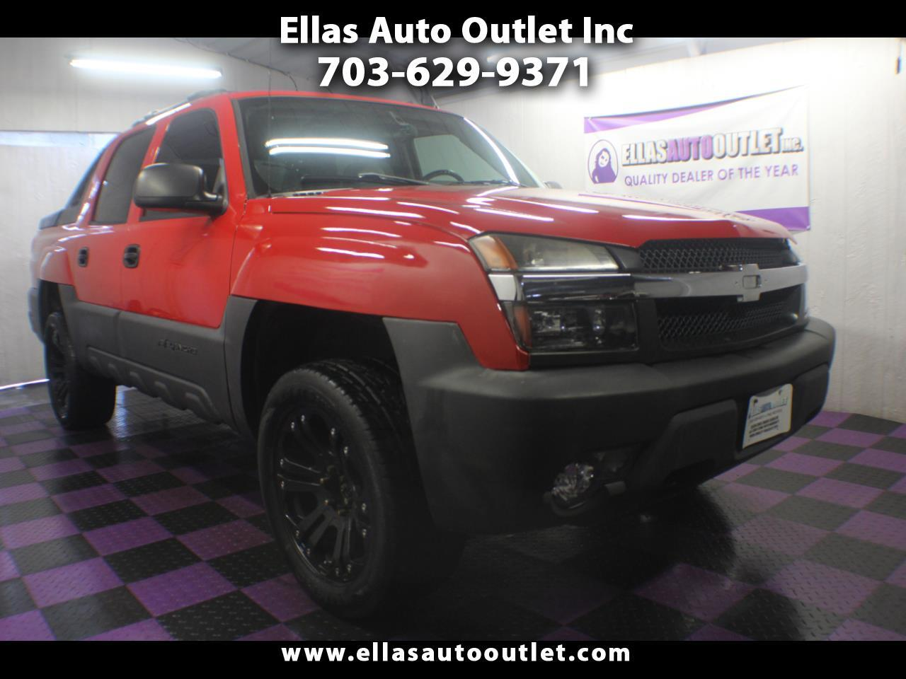 "Chevrolet Avalanche 1500 5dr Crew Cab 130"" WB 4WD Z71 2006"