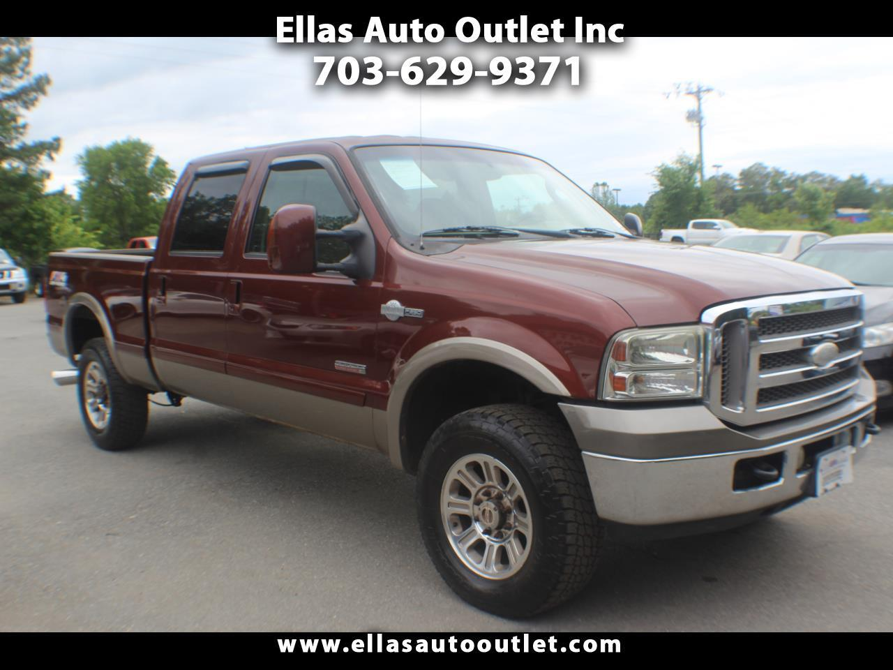 "Ford Super Duty F-250 Crew Cab 156"" King Ranch 4WD 2005"