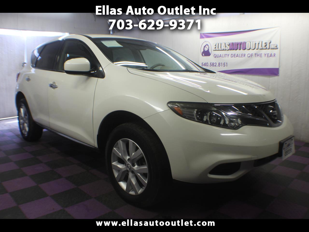 Nissan Murano AWD 4dr S 2012