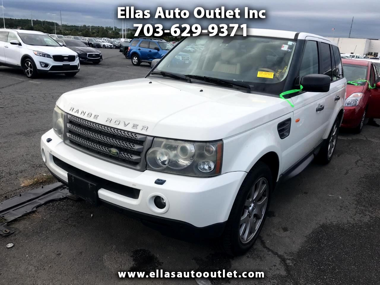 Land Rover Range Rover Sport 4WD 4dr HSE 2007
