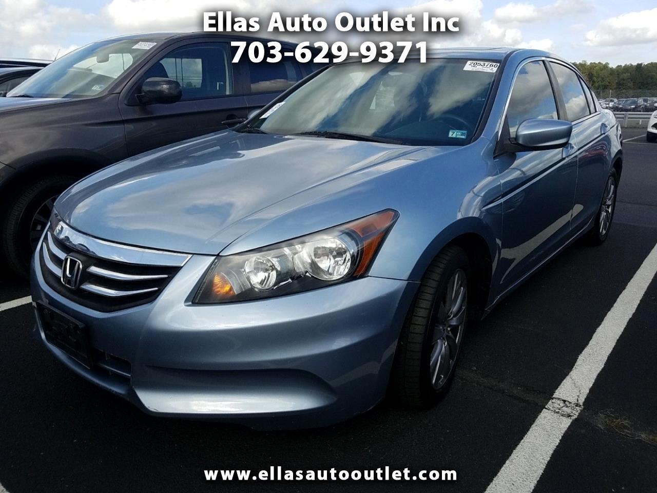 Honda Accord Sdn 4dr I4 Auto EX 2012