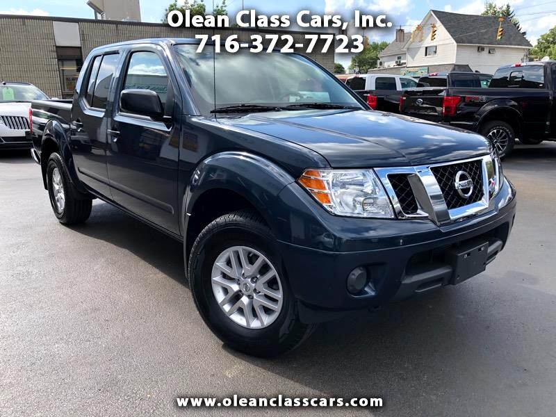 2019 Nissan Frontier SV Crew Cab 5AT 4WD