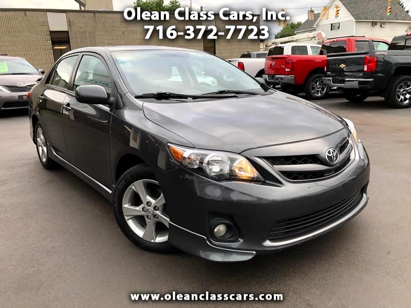 2012 Toyota Corolla S 5-Speed AT