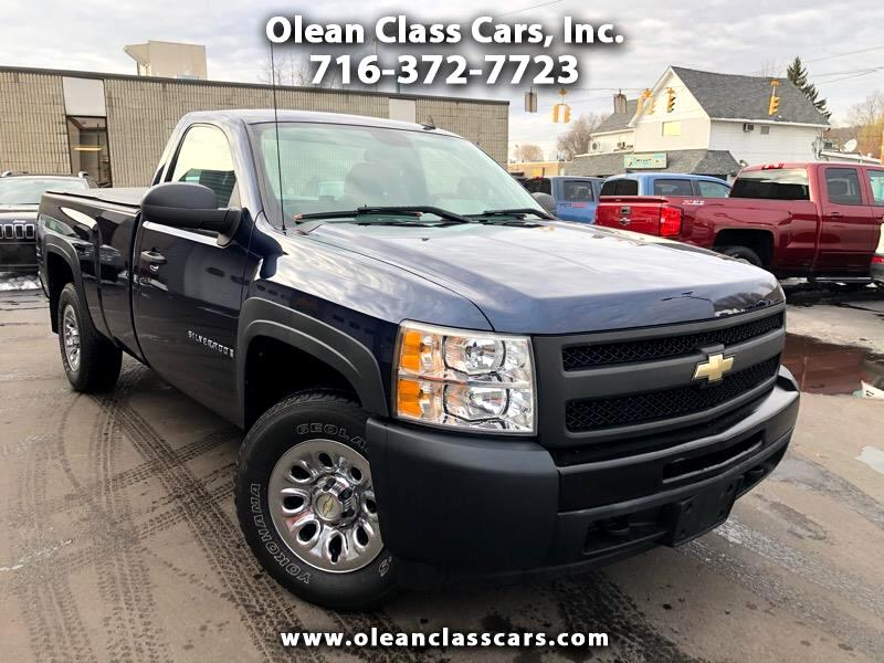 Chevrolet Silverado 1500 Work Truck Long Box 4WD 2009