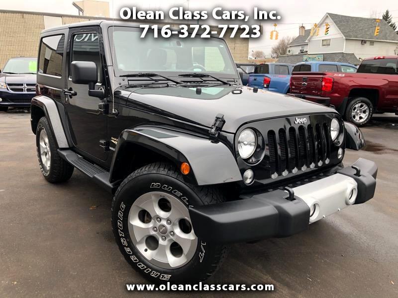 Jeep Wrangler Sahara 4WD 2014