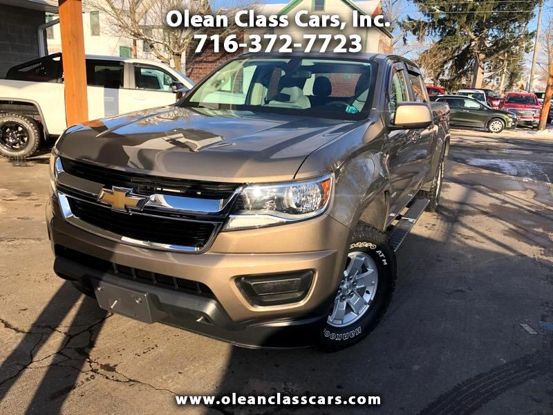 Chevrolet Colorado Work Truck Crew Cab 4WD Long Box 2016