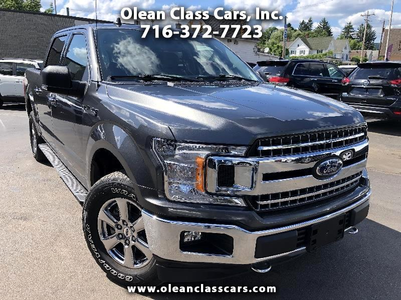 Ford F-150 XLT SuperCrew Short Bed 4WD 2019