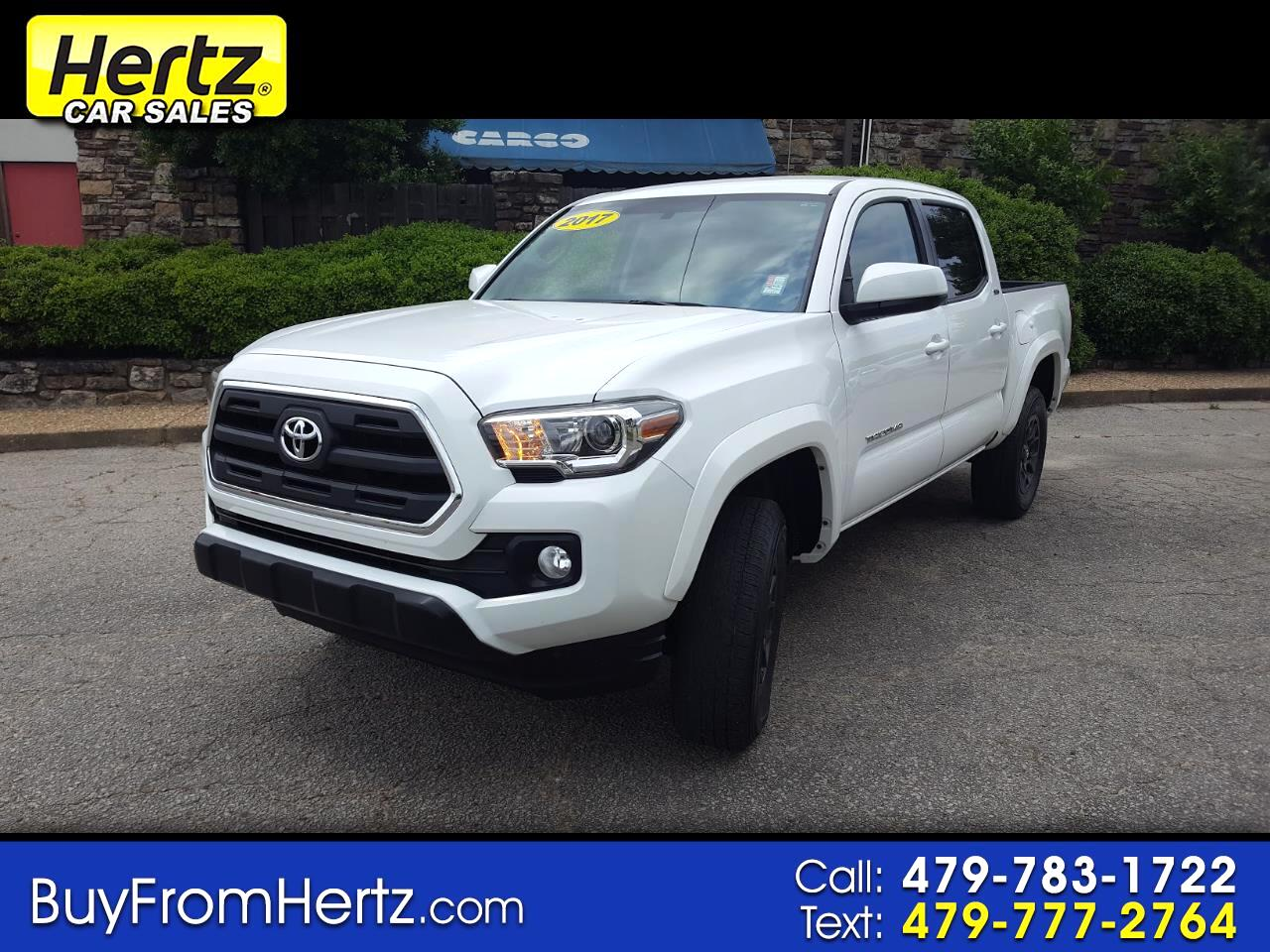 2017 Toyota Tacoma SR5 Double Cab 5' Bed V6 4x2 AT (Natl)