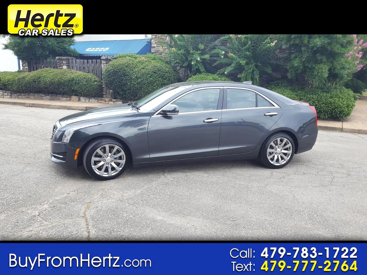 2018 Cadillac ATS Sedan 4dr Sdn 2.0L Luxury RWD