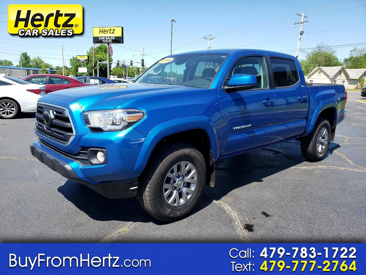 Toyota Tacoma TRD Off Road Double Cab 5' Bed V6 4x2 AT (Natl) 2018