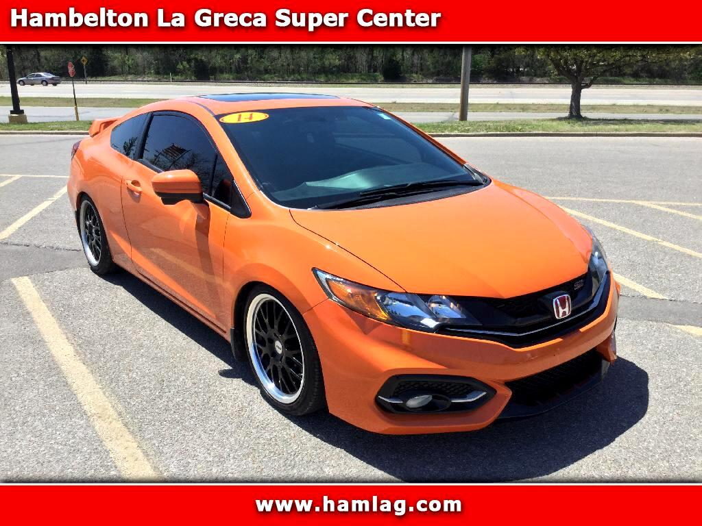 2014 Honda Civic Coupe 2dr Si 6 Speed Manual