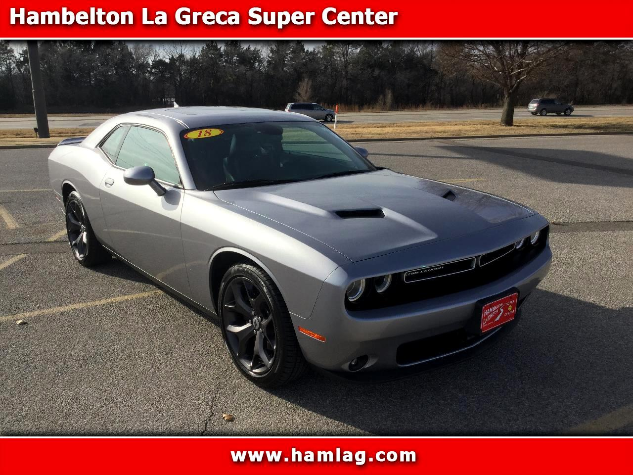 2018 Dodge Challenger SXT Plus RWD