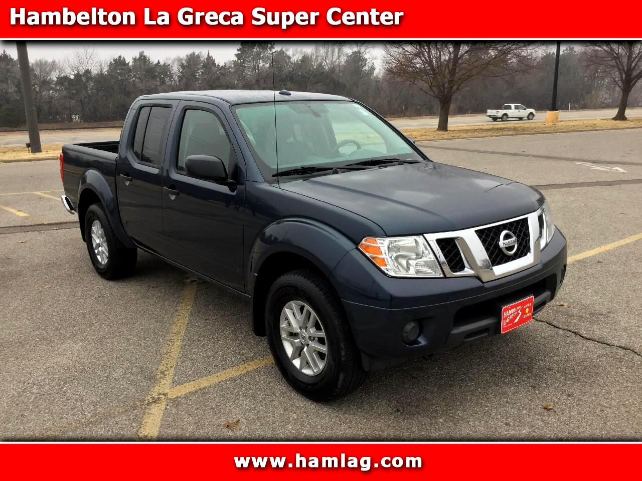 2018 Nissan Frontier Crew Cab SV 4x4 V6
